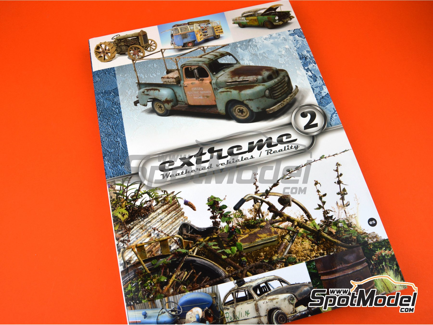 Image 6: Extreme2 - Extreme Weathered vehicles + Extreme reality: Spanish language | Book manufactured by AK Interactive (ref.AK-504)