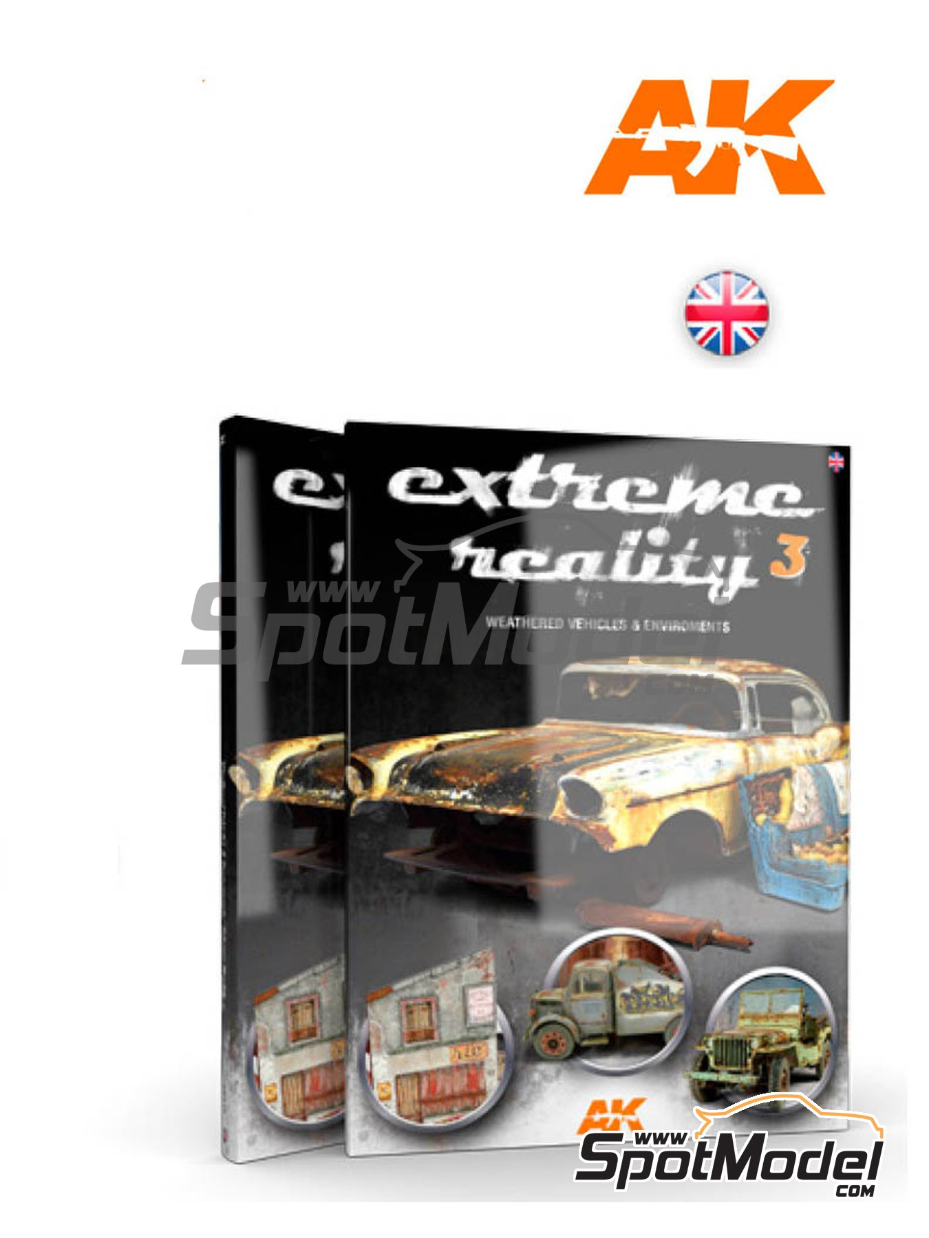 Extreme Reality 3 -Weathered vehicles and environments | Book manufactured by AK Interactive (ref.AK-510) image