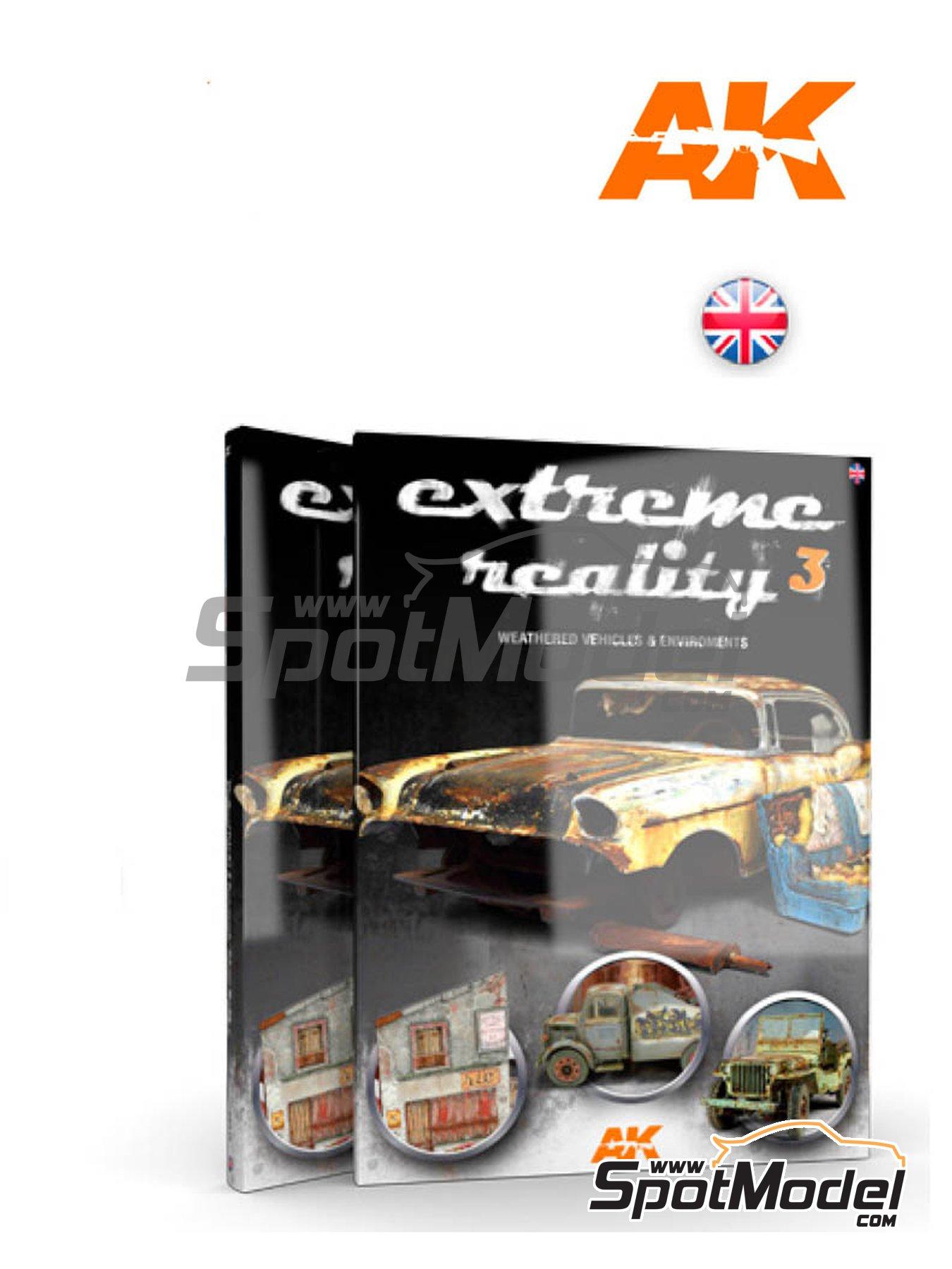 Extreme Reality 3 -Weathered vehicles and environments | Libro fabricado por AK Interactive (ref.AK-510) image
