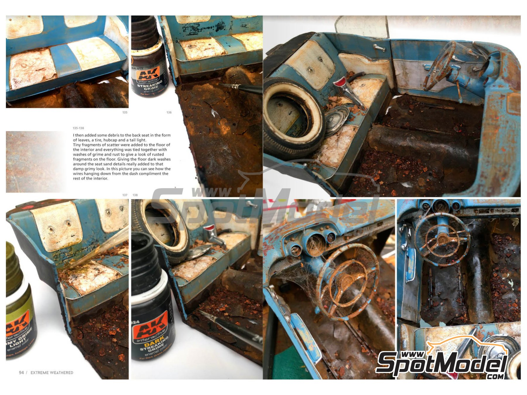Image 4: Extreme Reality 3 -Weathered vehicles and environments | Book manufactured by AK Interactive (ref.AK-510)
