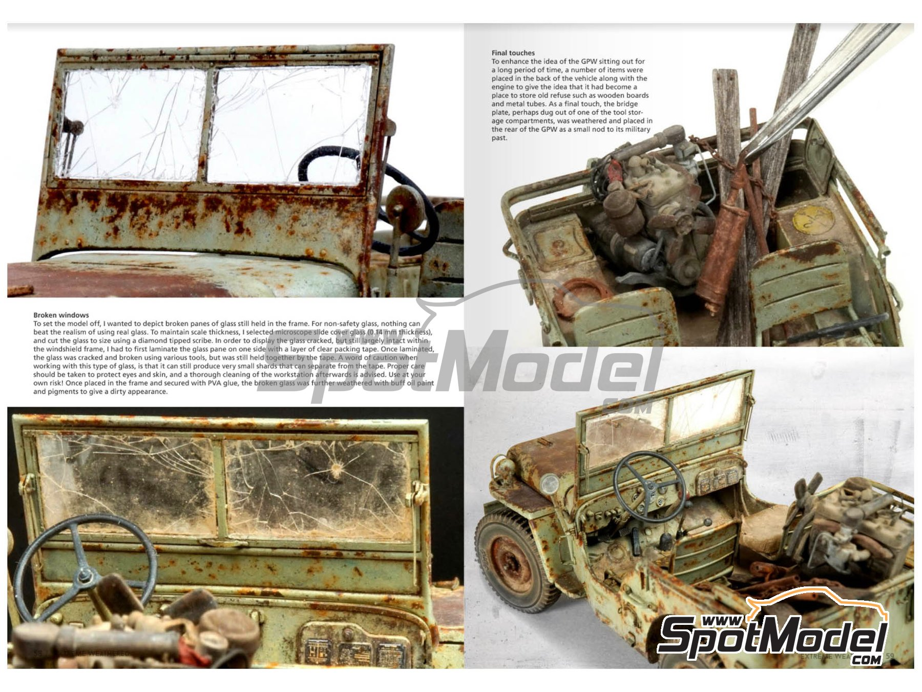 Image 6: Extreme Reality 3 -Weathered vehicles and environments | Book manufactured by AK Interactive (ref.AK-510)
