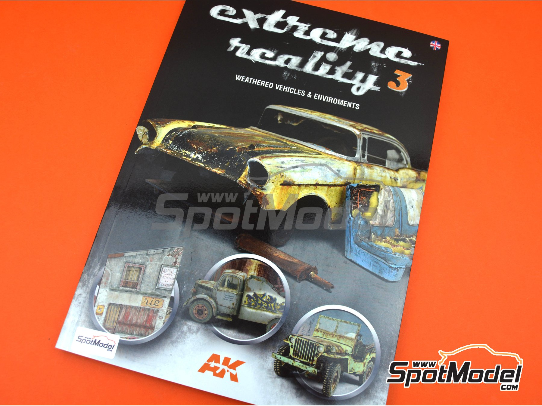 Image 7: Extreme Reality 3 -Weathered vehicles and environments | Book manufactured by AK Interactive (ref.AK-510)