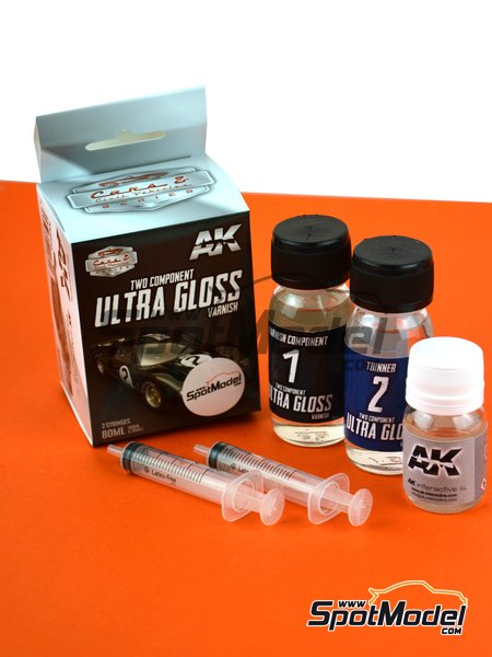 Ultra Gloss Varnish | Clearcoat manufactured by AK Interactive (ref. AK9040) image