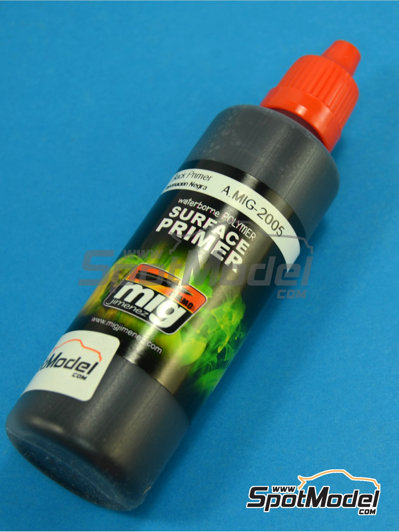 Black Primer - 1 x 60ml | Primer manufactured by AMMO of Mig Jimenez (ref. A.MIG-2005) image