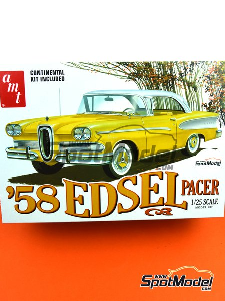 Edsel Pacer -  1958 | Model car kit in 1/25 scale manufactured by AMT (ref. AMT1087, also 1087 and AMT1087/12) image