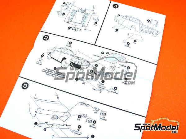 Image 14: Ford Mustang -  1965 | Model car kit in 1/16 scale manufactured by AMT (ref.AMT872)
