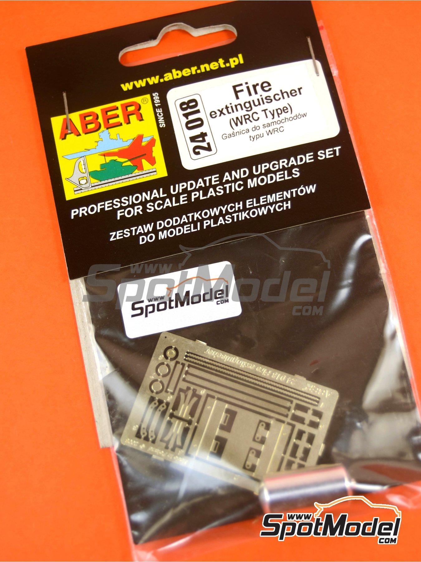 Extintor para coches de rally | Extintor en escala1/24 fabricado por Aber (ref.24018) image