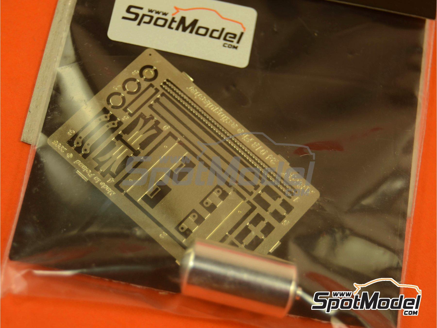 Image 2: Extintor para coches de rally | Extintor en escala1/24 fabricado por Aber (ref.24018)