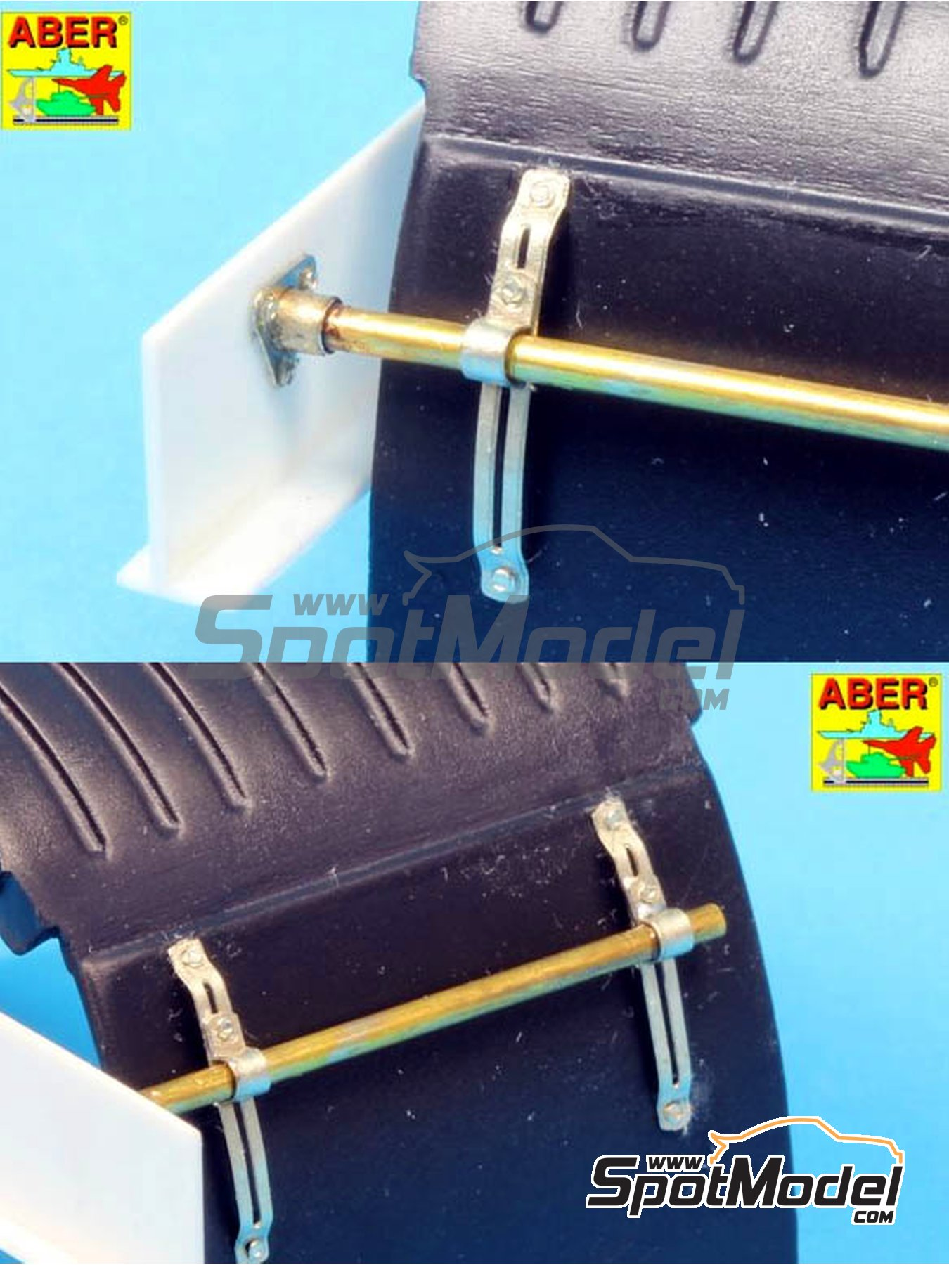 Truck fender holders | Detail in 1/24 scale manufactured by Aber (ref. 24037) image
