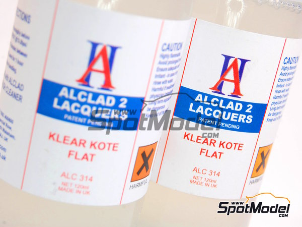 Image 1: Klear Cote Flat - 1 x 120ml | Clearcoat manufactured by Alclad (ref.ALC314)