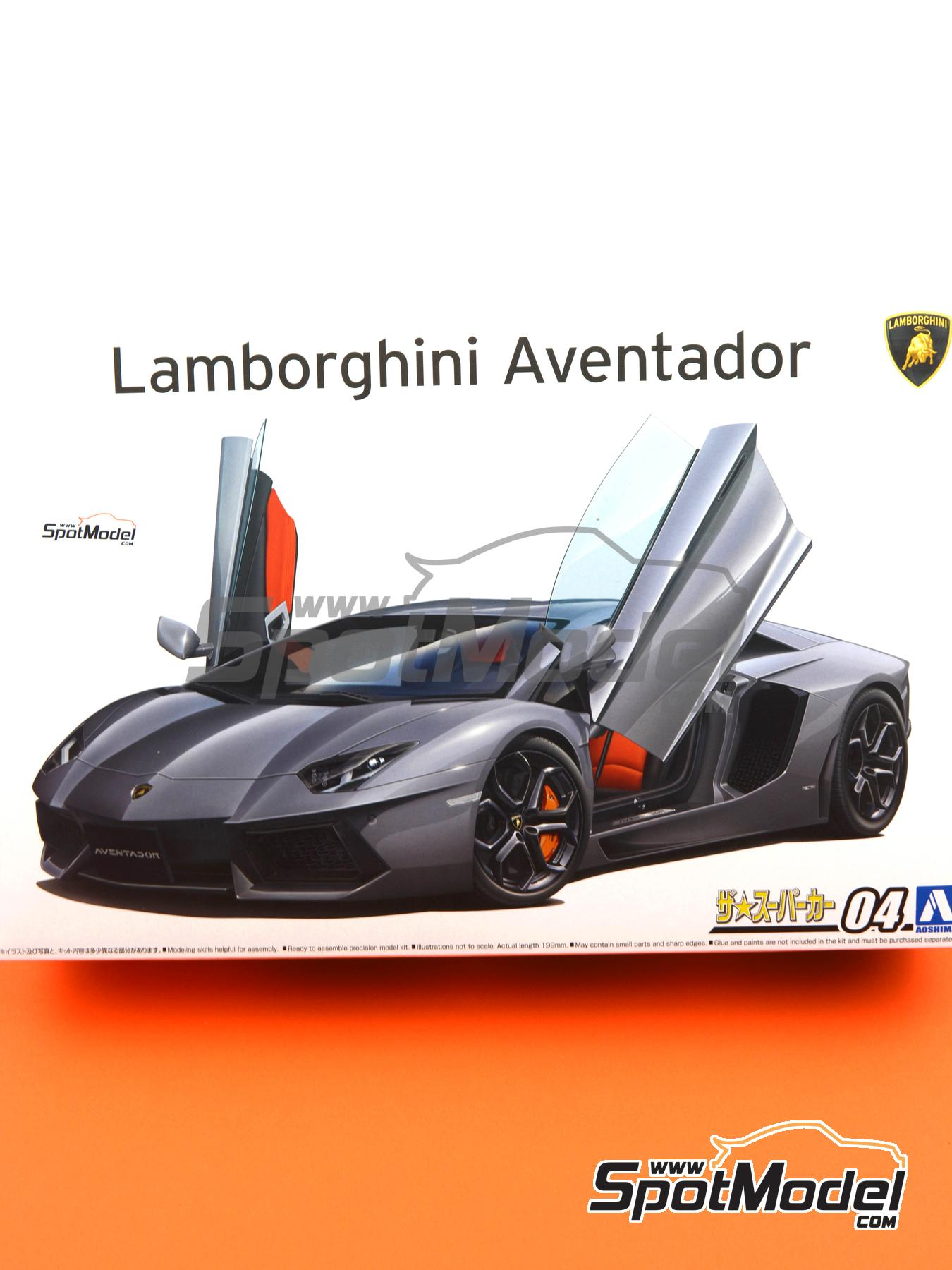 Lamborghini Aventador LP700 4 | Model Car Kit In 1/24 Scale Manufactured By