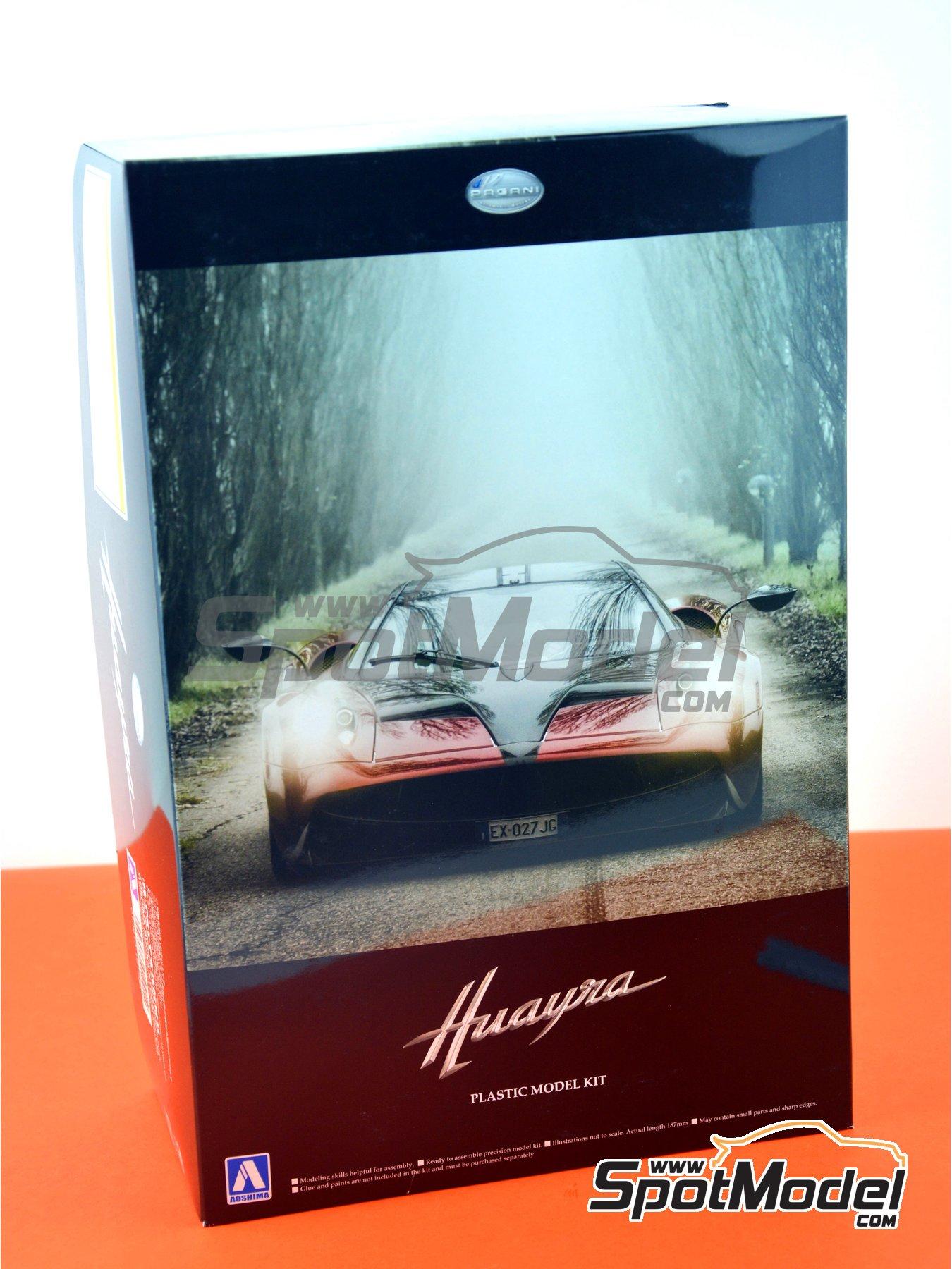 Pagani Huayra | Maqueta de coche en escala1/24 fabricado por Aoshima (ref.01091) image