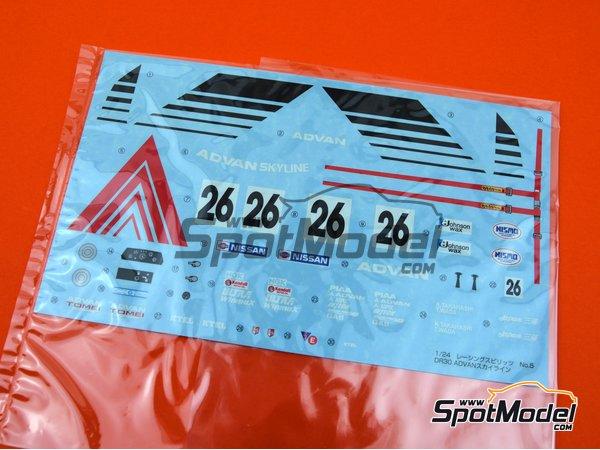 Image 6: Advan Skyline RS Turbo Racing Spirit's - Campeonato Japones de Turismos (JTCC)   Maqueta de coche en escala1/24 fabricado por Aoshima (ref.042823, tambien 04282 y abk142823)