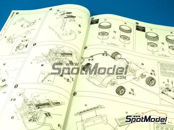 Image 3: Lamborghini Murcielago LP670-4 SV SuperVeloce | Maqueta de coche en escala1/24 fabricado por Aoshima (ref.AOSH-007082)