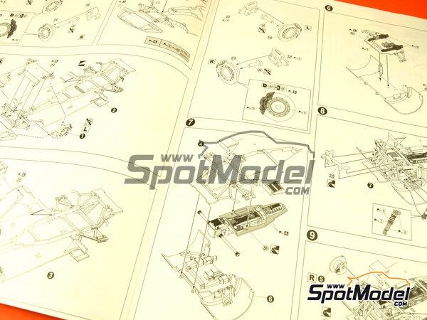 Image 2: Lamborghini Murcielago R-SV All Inkl - Zolder DRM 2011 | Maqueta de coche en escala1/24 fabricado por Aoshima (ref.AOSH-00718)