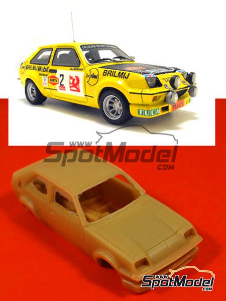 Vauxhall Chevette HS -  1978 | Model car kit in 1/43 scale manufactured by Arena (ref. ARE303) image