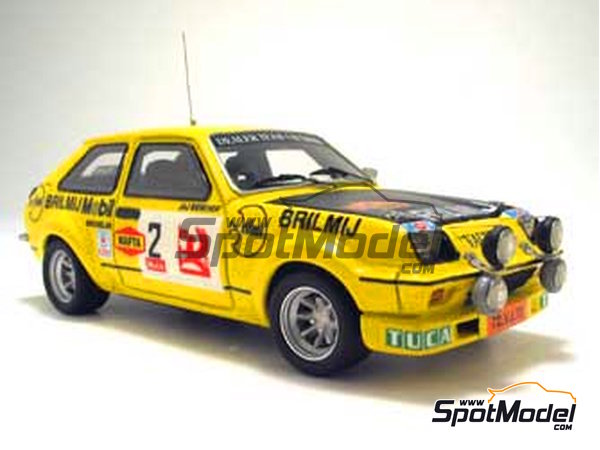 Image 1: Vauxhall Chevette HS -  1978 | Model car kit in 1/43 scale manufactured by Arena (ref. ARE303)