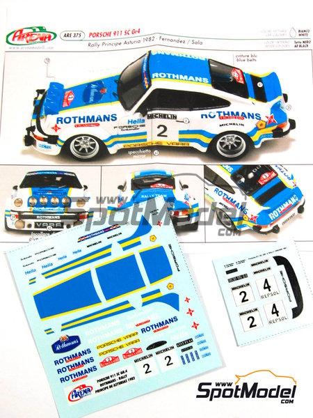911 SC Group 4 Rothmans Nº 2 Beny Fernandez Sala Rally