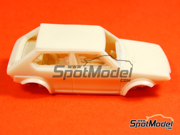 Image 9: Fiat Ritmo 75 Carling - Condroz Rally 1979 | Model car kit in 1/43 scale manufactured by Arena (ref. ARE545)
