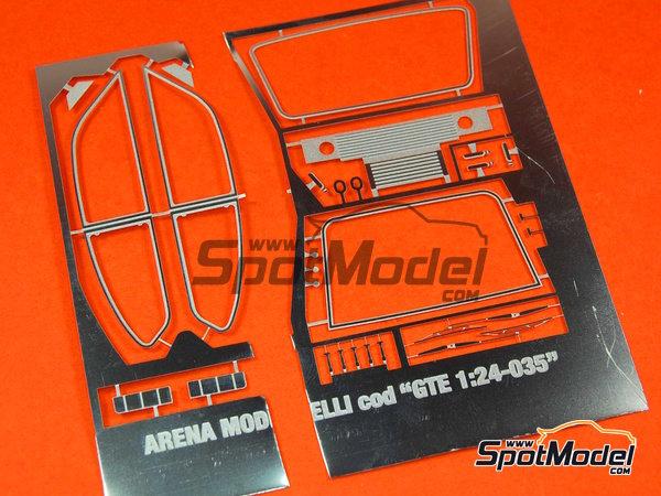 Image 6: Opel Kadett GTE 2000 Grupo 2 Mobil1 - Rally Elba 1978 | Maqueta de coche en escala1/24 fabricado por Arena (ref.ARE551-24)