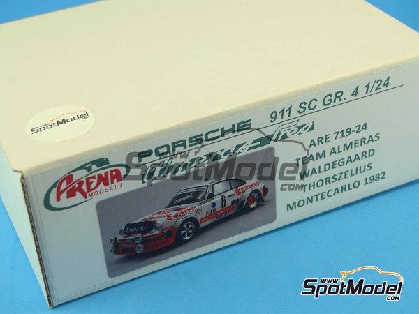 Image 19: Porsche 911SC Grupo 4 Eminence - Rally de Montecarlo 1982 | Maqueta de coche en escala1/24 fabricado por Arena (ref.ARE719-24)