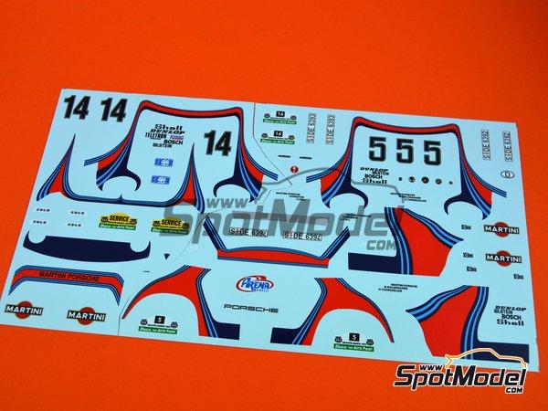 Image 10: Porsche 911SC Martini Racing - Rally Safari 1978 | Maqueta de coche en escala1/24 fabricado por Arena (ref.ARE861-24)