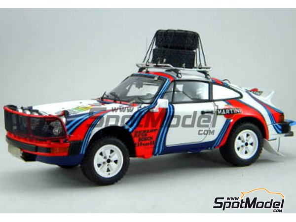 Image 1: Porsche 911SC Martini Racing - Rally Safari 1978 | Maqueta de coche en escala 1/24 fabricado por Arena (ref. ARE862-24)