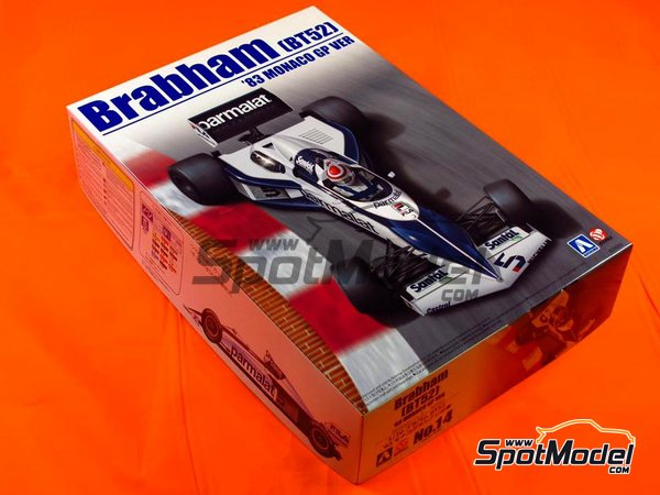 Image 2: Brabham BMW BT52 Parmalat - FIA Formula 1 World Championship 1983 | Model car kit in 1/20 scale manufactured by Beemax Model Kits (ref. B20003)