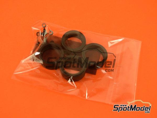 Image 5: Honda Civic EF3 Grupo A PIAA | Maqueta de coche en escala1/24 fabricado por Beemax Model Kits (ref.B24005, tambien Aoshima 084588)