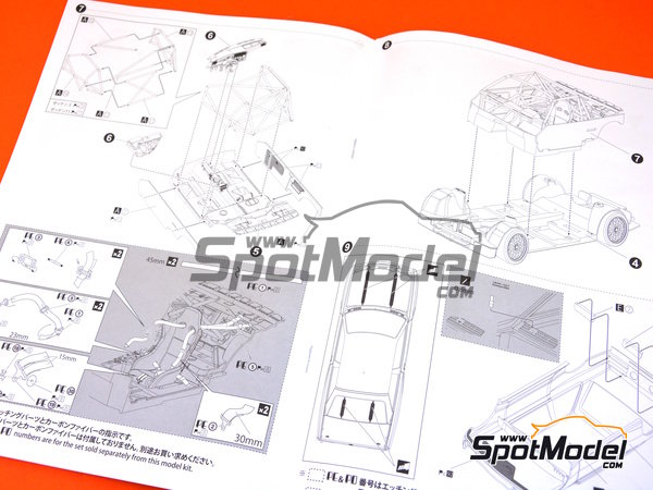 Image 12: BMW M3 E30 - DTM 1991 | Model car kit in 1/24 scale manufactured by Beemax Model Kits (ref. B24007)