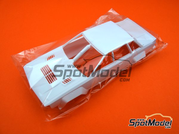 Image 11: Nissan 240RS BS110 Group B - Safari Rally 1984 | Model car kit in 1/24 scale manufactured by Beemax Model Kits (ref. B24014)