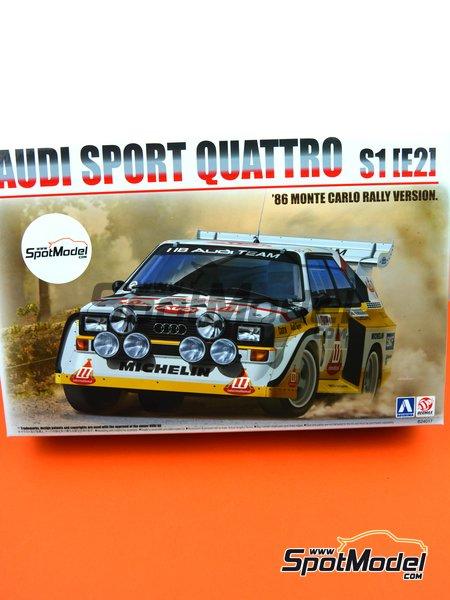 Beemax Model Kits Model Car Kit Scale Audi Quattro Sport S - Audi quattro