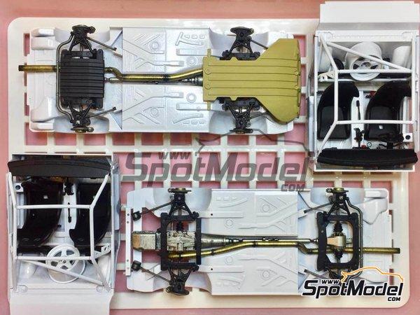 Image 3: Audi Quattro Sport S1 HB Audi Team - Rally de Montecarlo | Maqueta de coche en escala1/24 fabricado por Beemax Model Kits (ref.B24017)