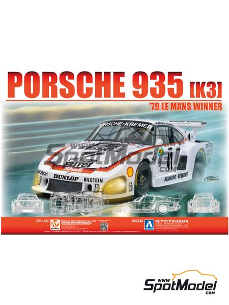 Porsche 935 K3 - 24 Hours Le Mans | Model car kit in 1/24 scale manufactured by Beemax Model Kits (ref. B24025) image
