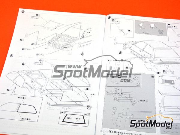 Image 15: Honda Civic EF3 Grupo A -  1988 | Maqueta de coche en escala1/24 fabricado por Beemax Model Kits (ref.B29009)