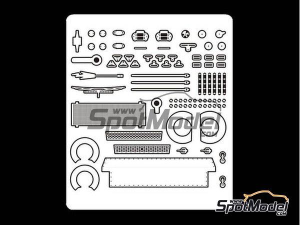 Image 1: Toyota Corolla Levin AE92 Grupo A | Set de mejora y detallado en escala1/24 fabricado por Beemax Model Kits (ref.E24010)
