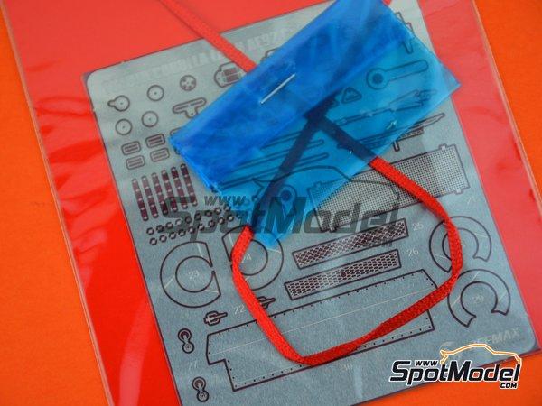 Image 4: Toyota Corolla Levin AE92 Grupo A | Set de mejora y detallado en escala1/24 fabricado por Beemax Model Kits (ref.E24010)