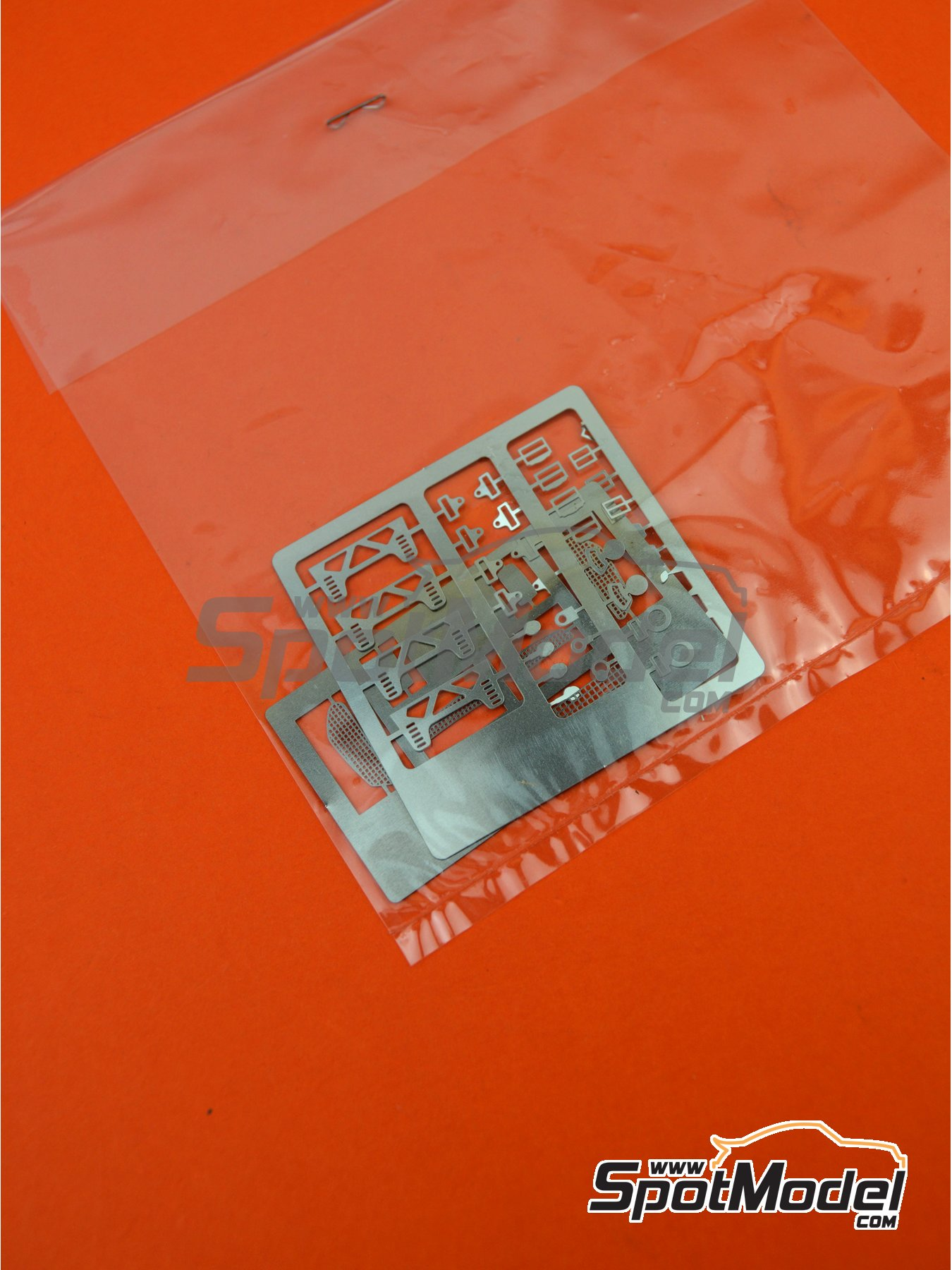 Skoda Fabia S2000 Evo: Photoetched parts | Spare part in 1/24 scale manufactured by Belkits (ref. BEL-004-PHOTOETCH) image