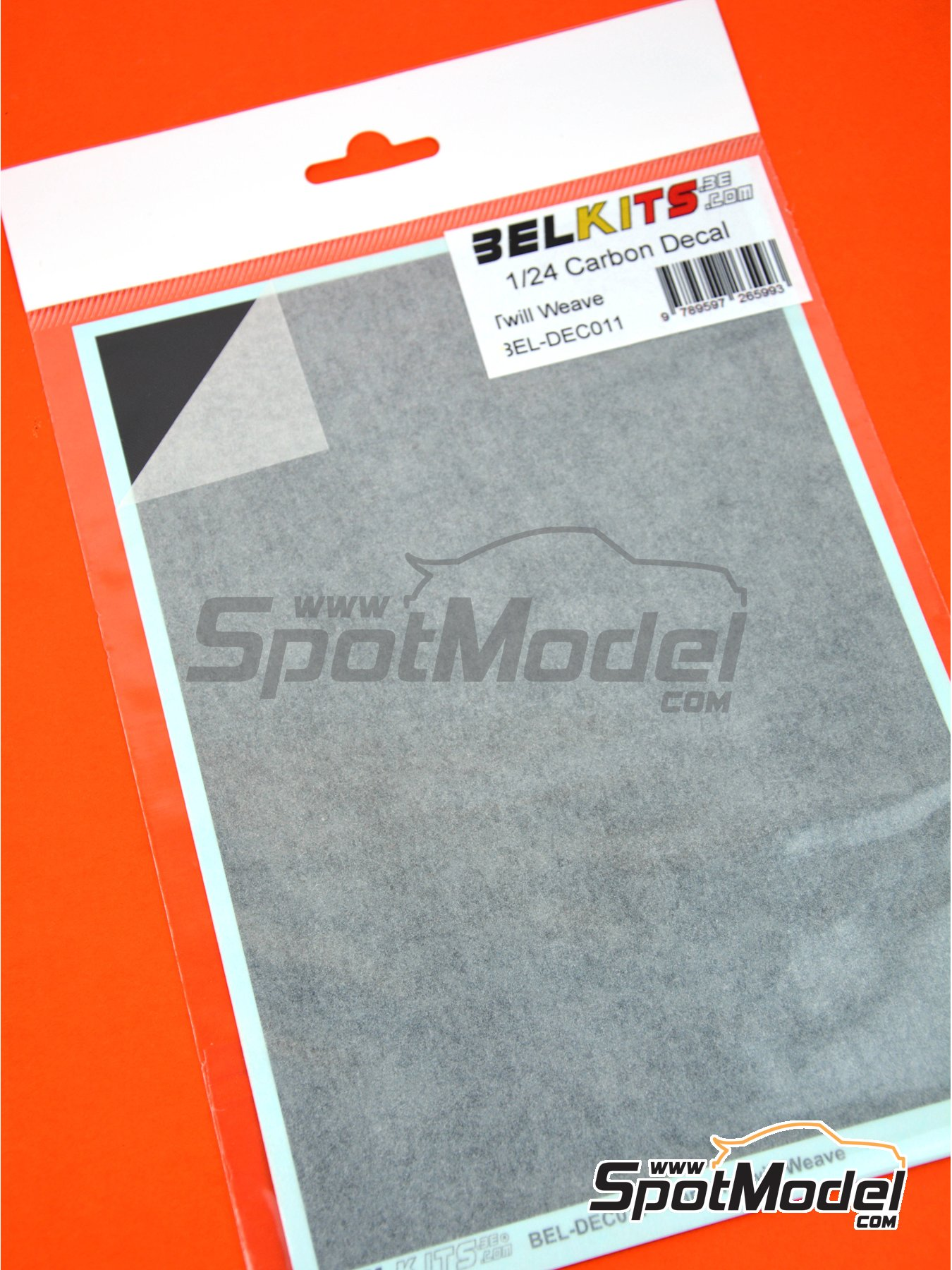 Carbon Twill Weave | Decals manufactured by Belkits (ref. BEL-DEC011) image