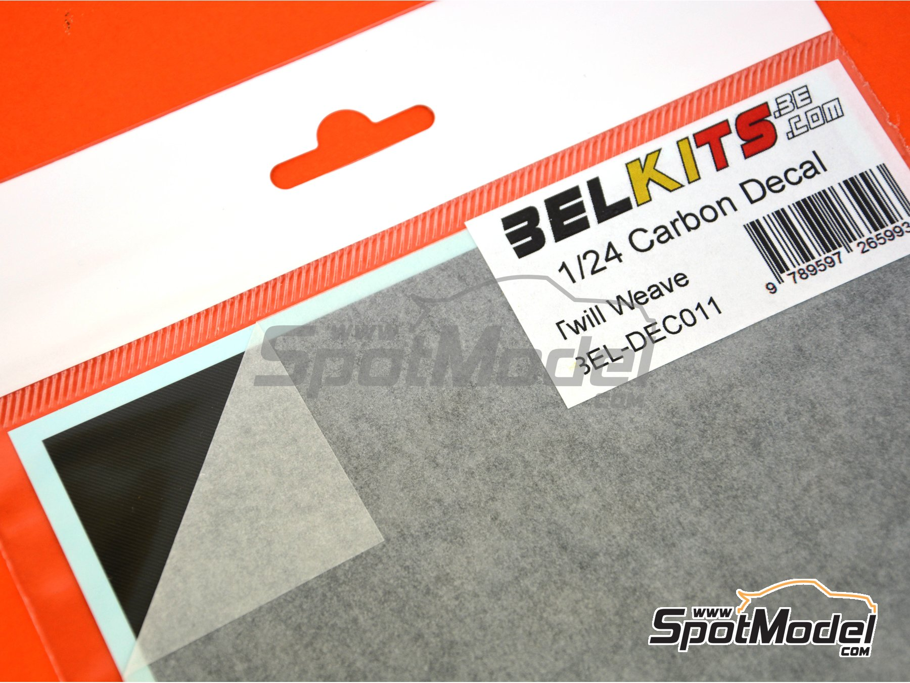 Image 2: Carbon Twill Weave | Decals manufactured by Belkits (ref. BEL-DEC011)