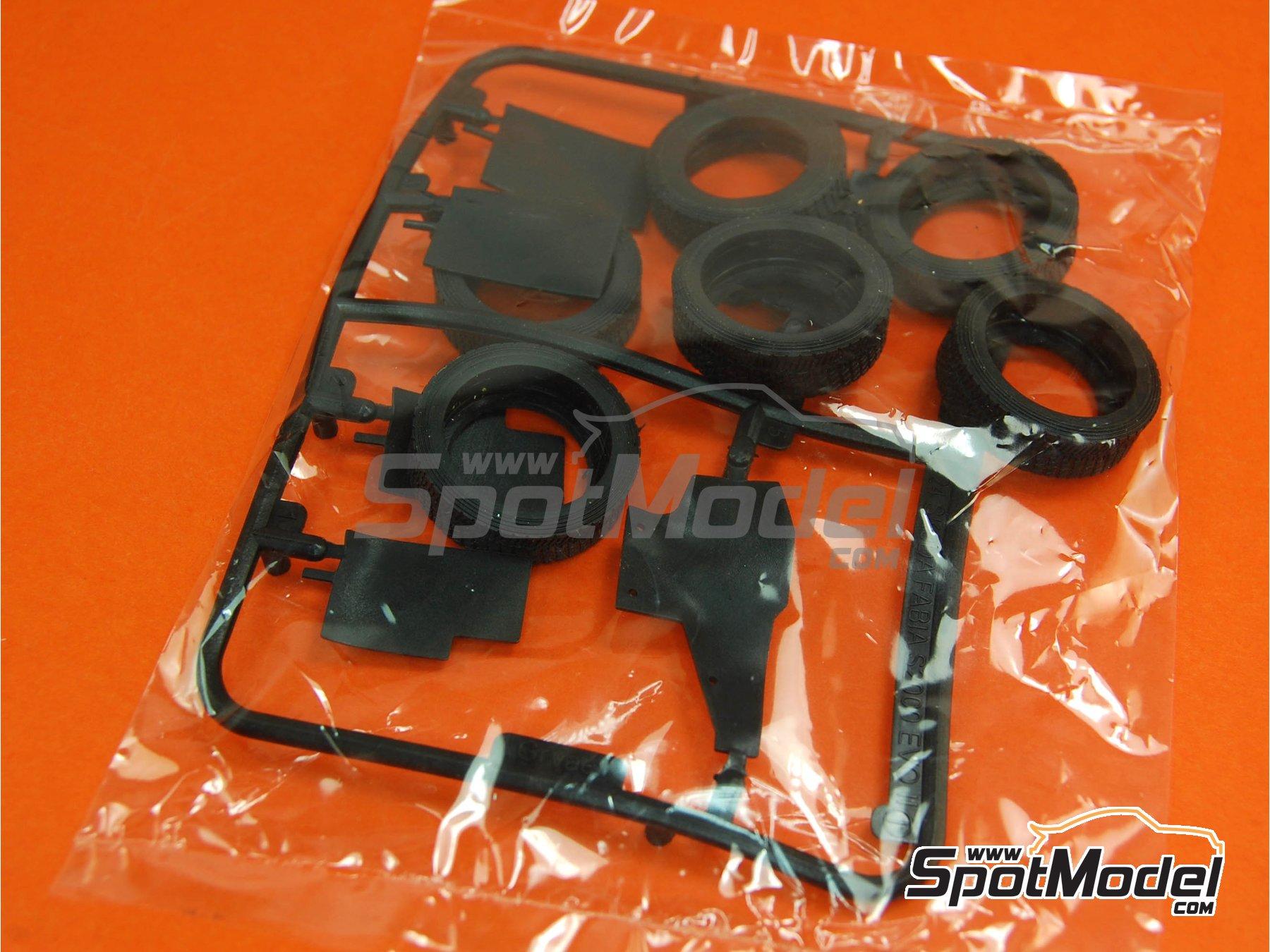 Image 2: Skoda Fabia S2000 Evo - Gravel Set | Transkit in 1/24 scale manufactured by Belkits (ref.BEL-TK002)