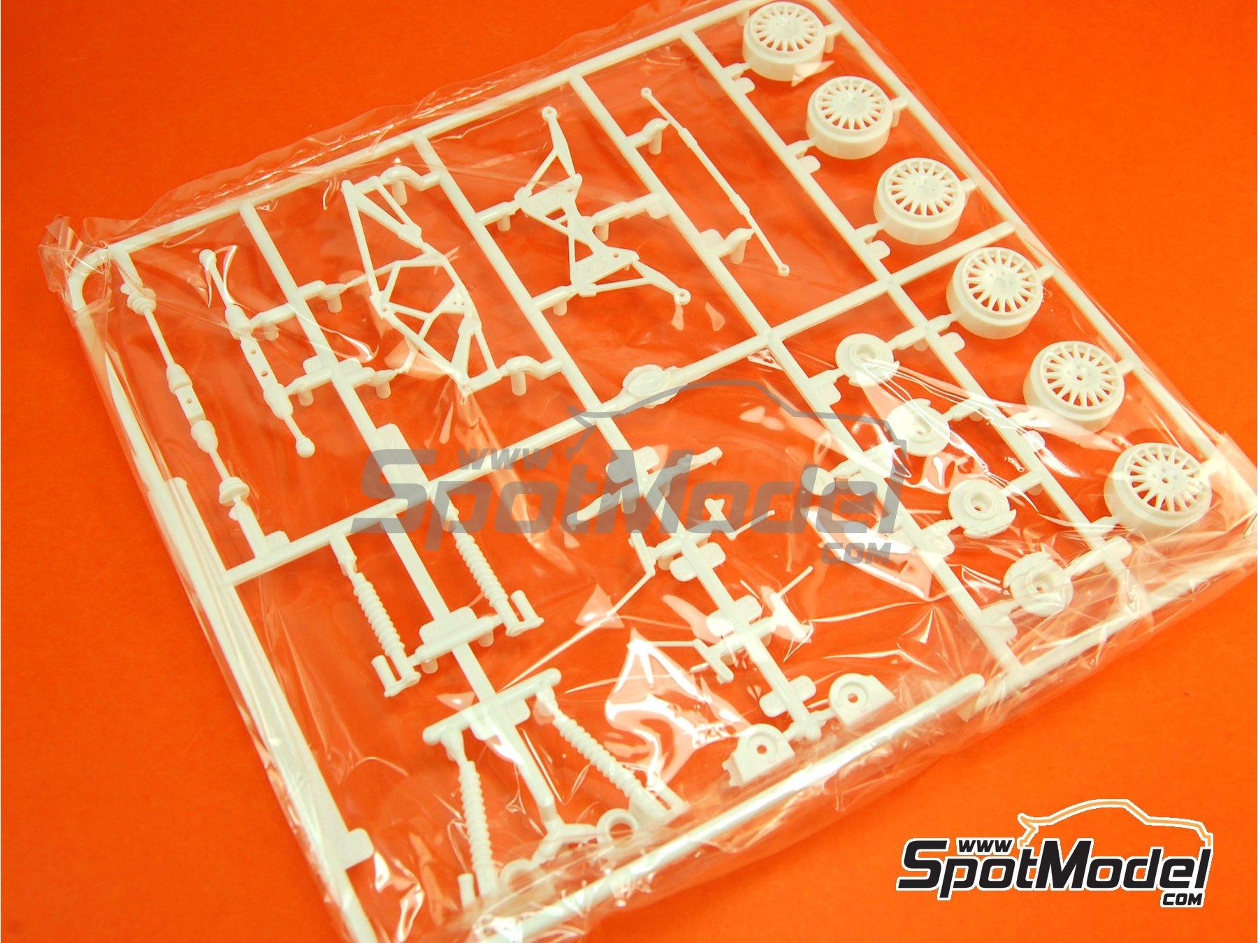 Image 6: Skoda Fabia S2000 Evo - Gravel Set | Transkit in 1/24 scale manufactured by Belkits (ref.BEL-TK002)
