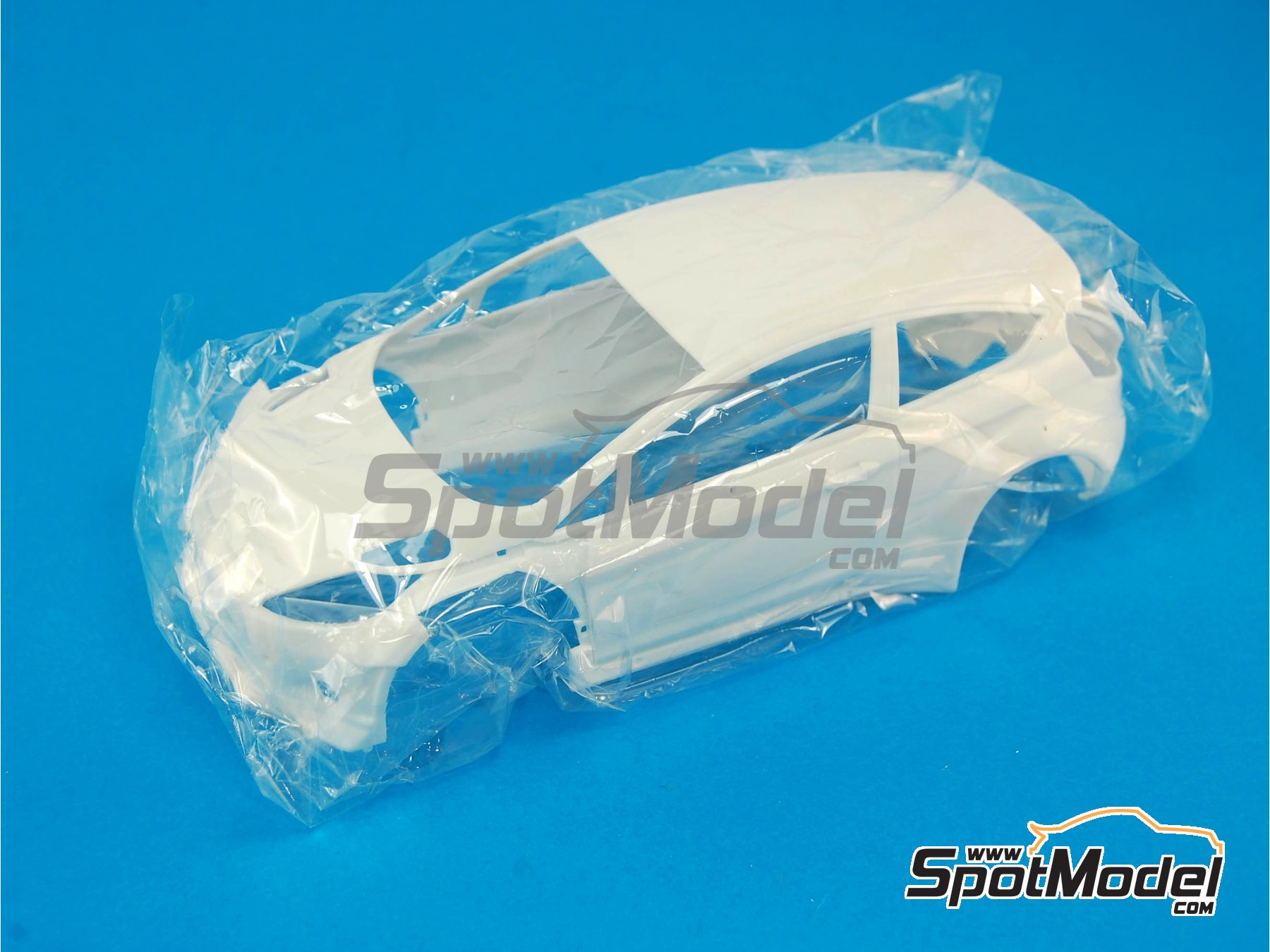 Image 2: Ford Fiesta RS WRC: Body | Spare part in 1/24 scale manufactured by Belkits (ref.BEL003-BODY)
