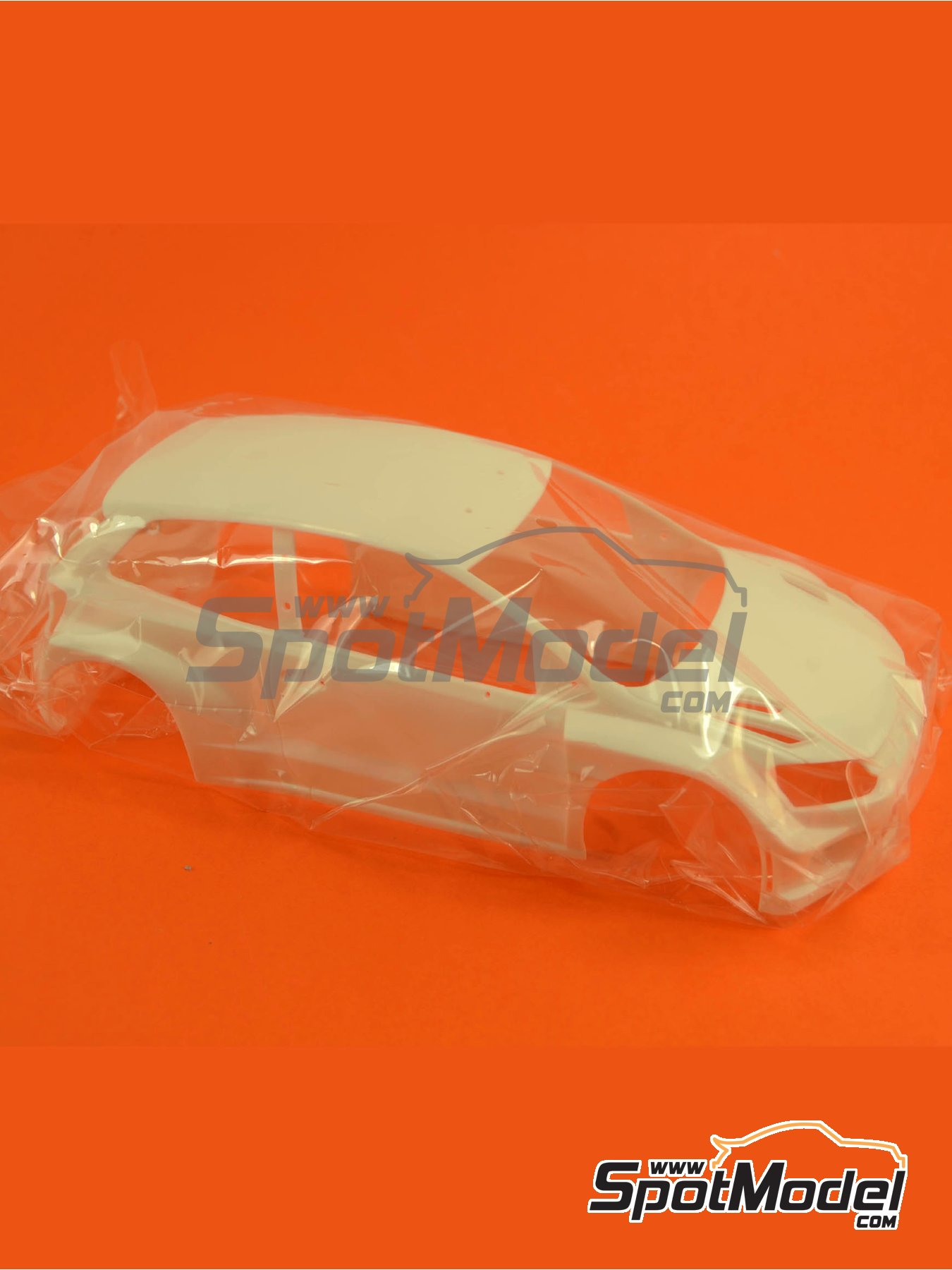Volkswagen Polo R WRC: Body | Spare part in 1/24 scale manufactured by Belkits (ref.BEL005-BODY) image