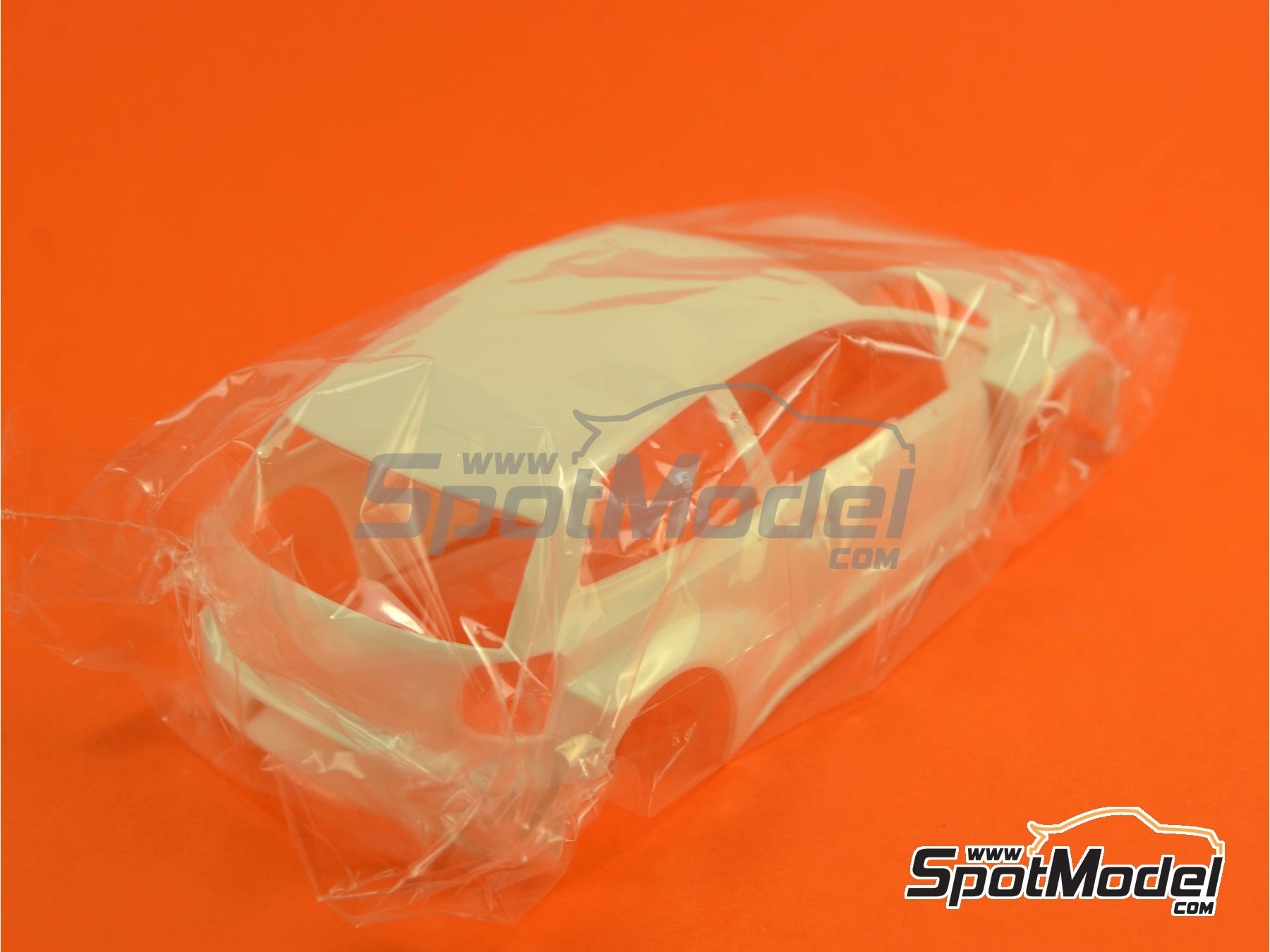 Image 1: Volkswagen Polo R WRC: Body | Spare part in 1/24 scale manufactured by Belkits (ref.BEL005-BODY)