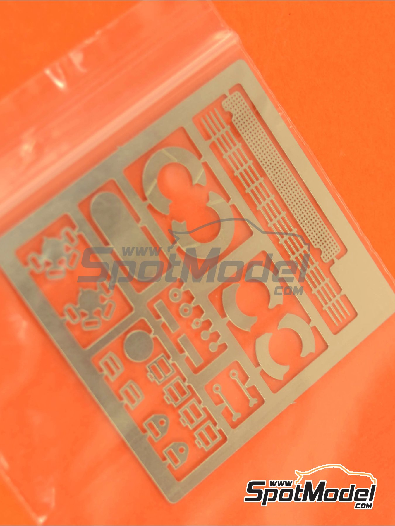 Ford Escort RS1600 Mk I: Photoetched parts   Spare part in 1/24 scale manufactured by Belkits (ref.BEL006-PHOTOETCHS) image