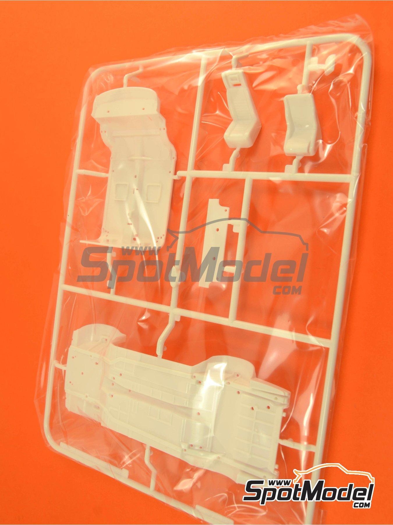 Ford Escort RS1600 Mk I: Sprue C | Spare part in 1/24 scale manufactured by Belkits (ref.BEL006-SPRUE-C) image