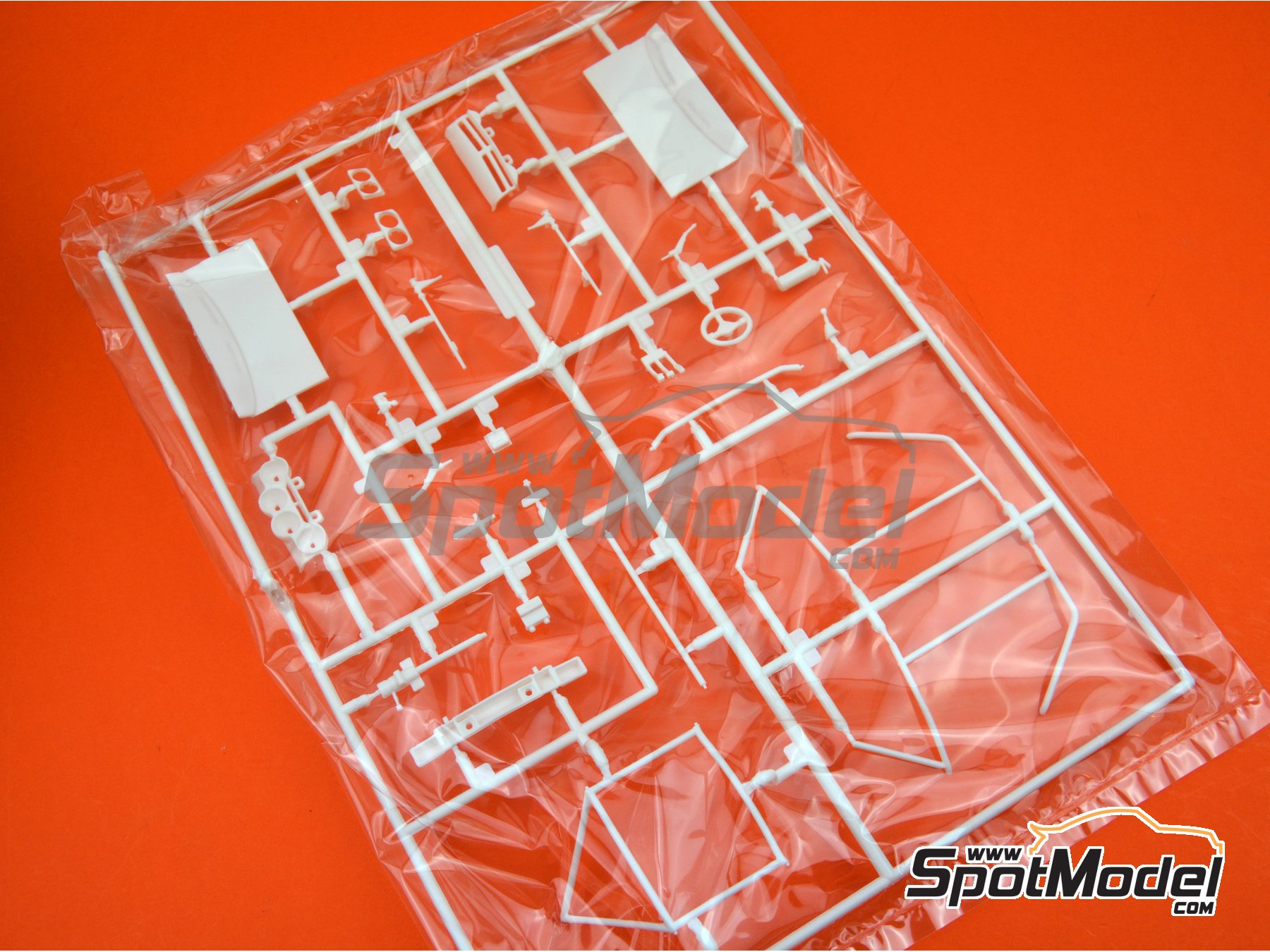 Image 1: Opel Manta 400 Group B: Sprue D | Spare part in 1/24 scale manufactured by Belkits (ref. BEL008-SPRUE-D)