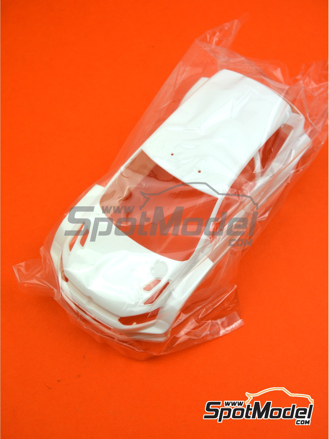 Volkswagen Polo R WRC: Body | Spare part in 1/24 scale manufactured by Belkits (ref. BEL010-BODY) image