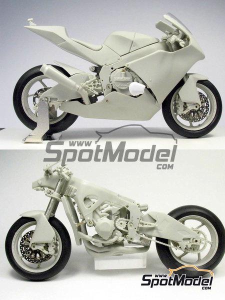 Suter MMX 600cc Moto2 -  2010 | Model bike kit in 1/12 scale manufactured by BolidItalia Bikes Models (ref.BLDTL-FK01) image
